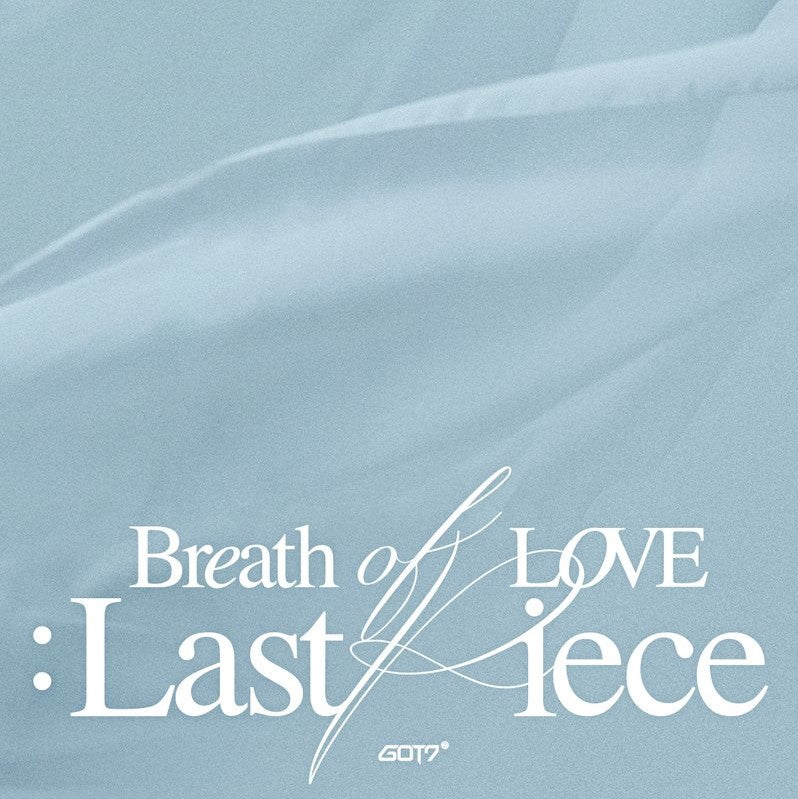GOT7 - 4th Album - Breath of Love: Last Piece