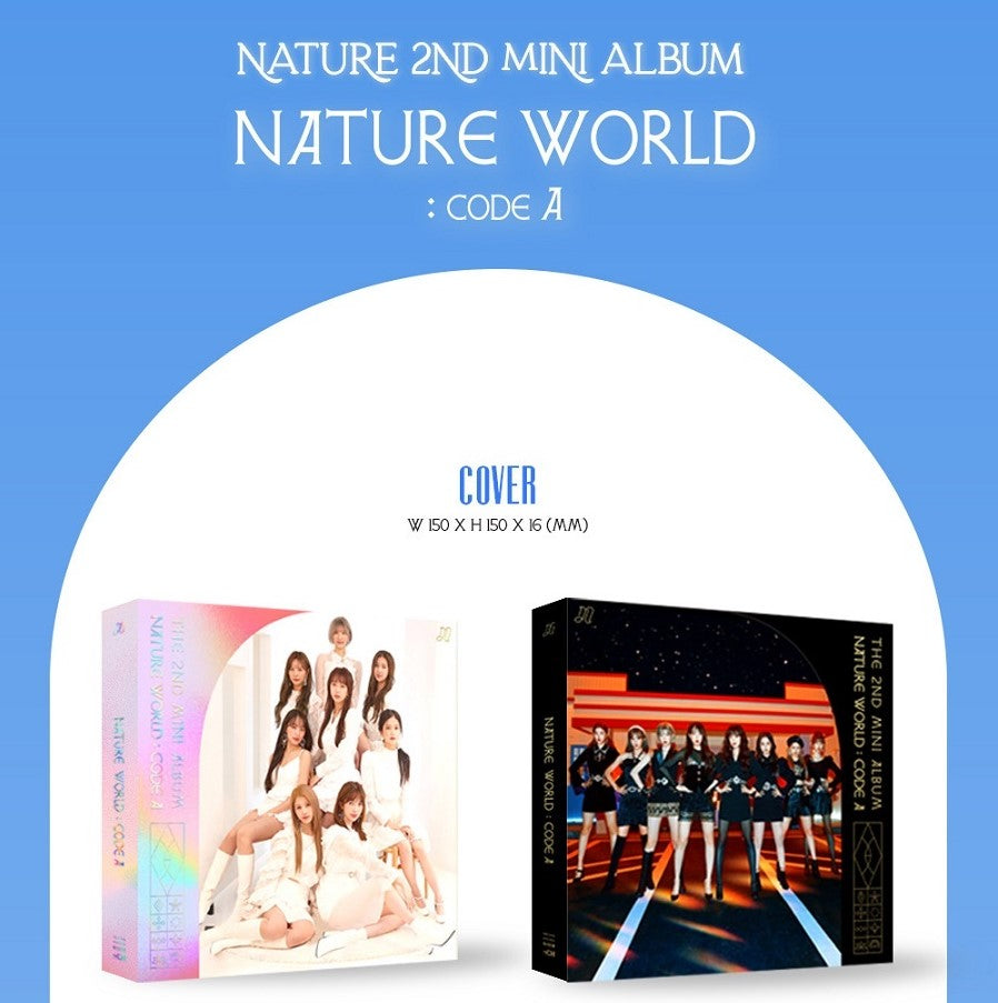 Nature - 2nd Mini Album - Nature World Code: A