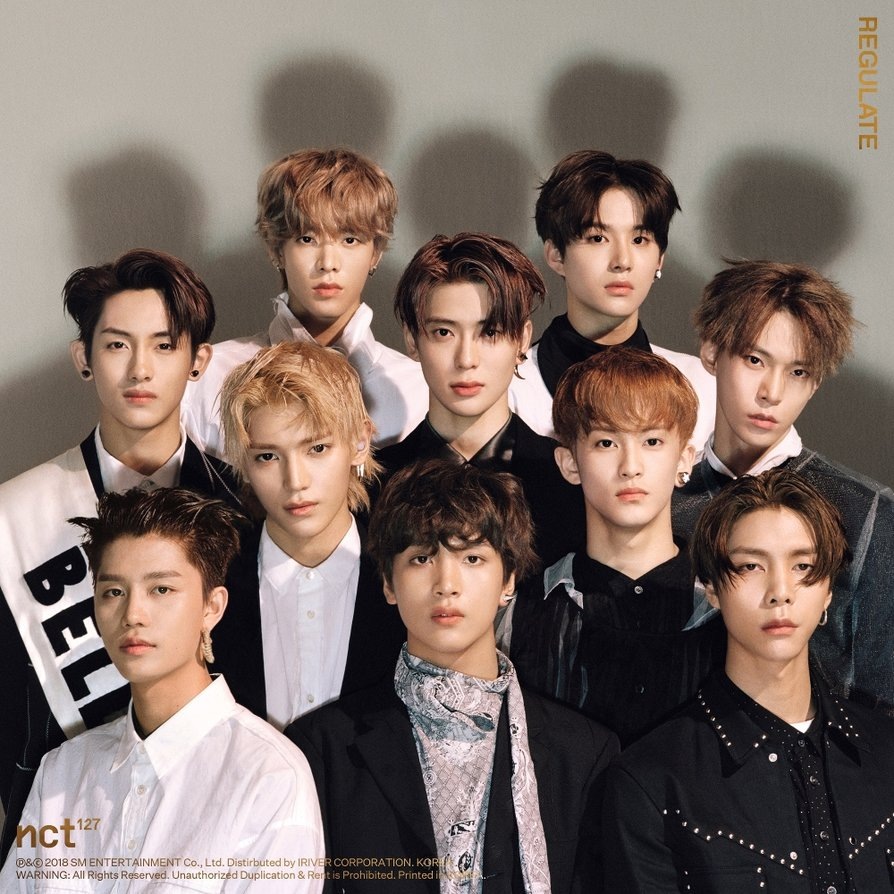 NCT 127 - Regulate - 1st Album Repackage