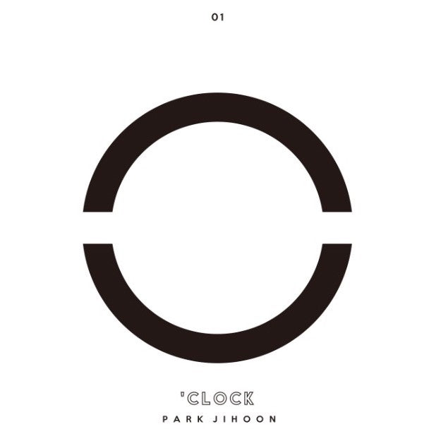 Park Ji Hoon - 1st Mini Album - O'CLOCK
