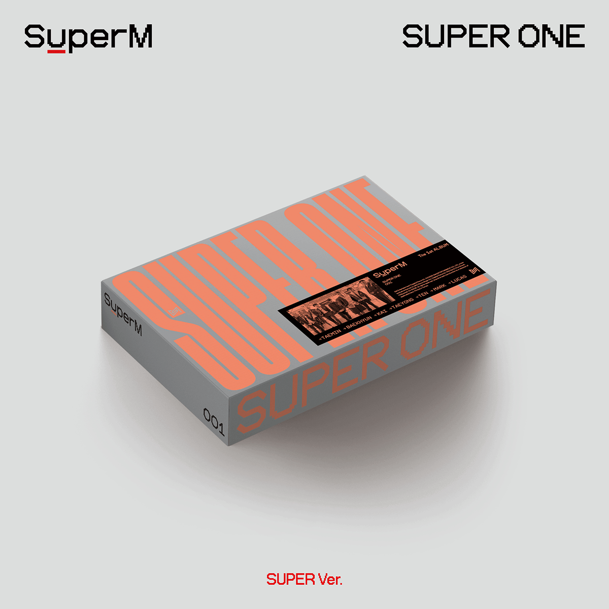 SuperM -  The 1st Album -  Super One (Random) (US ver.)