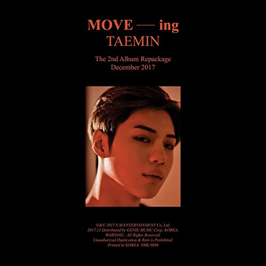 Taemin - MOVE-ing - 2nd Repackage