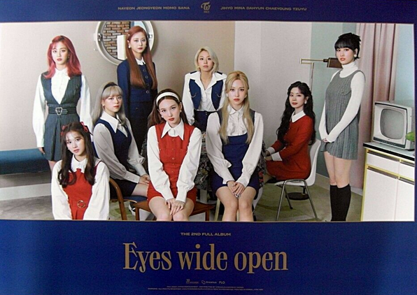 [Poster] Twice - Eyes Wide Open 2/3