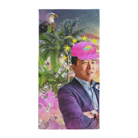 Yang Tropical Beach Towel