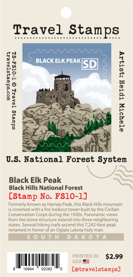 Black Hills National Forest - Black Elk Peak