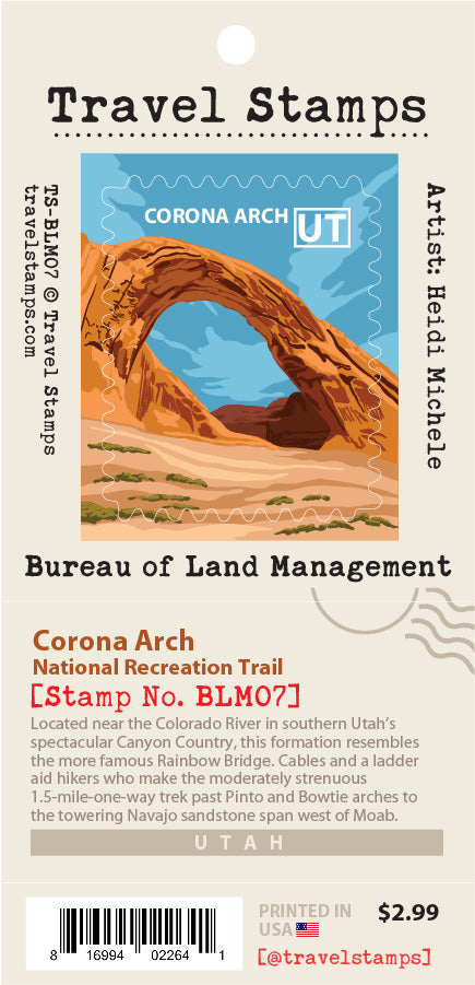 Corona Arch National Recreation Trail