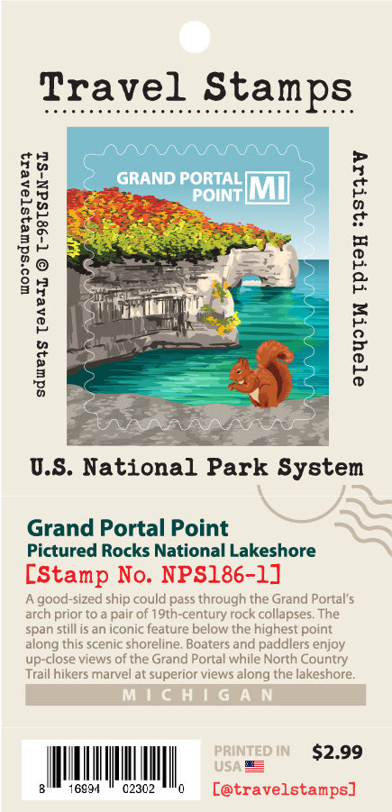 Pictured Rocks National Lakeshore - Grand Portal Point