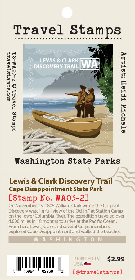 Cape Disappointment State Park: Lewis & Clark Discovery Trail