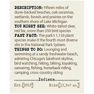 Indiana Dunes NP Album & Guide Text