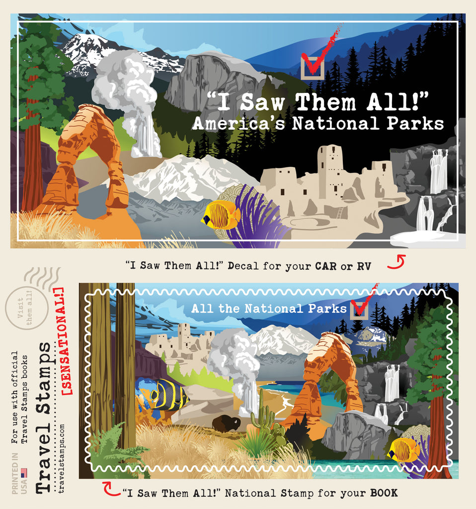 """I Saw Them All"" 61 National Parks"