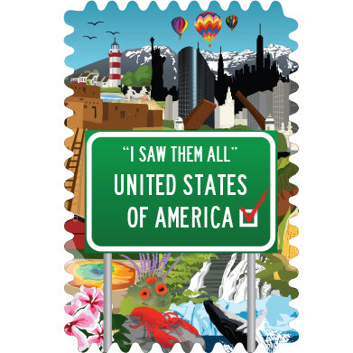 """I Saw Them All"" 50 States (small)"