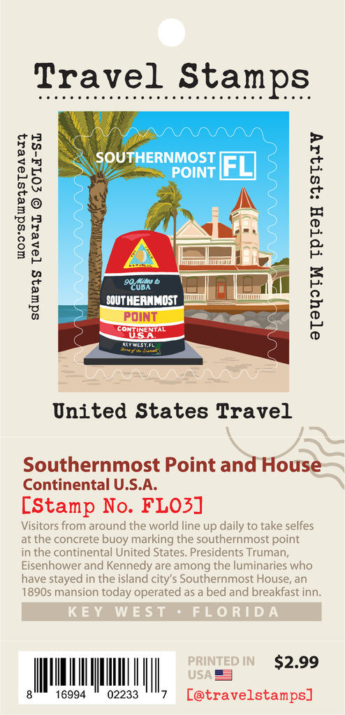 Southernmost Point & House