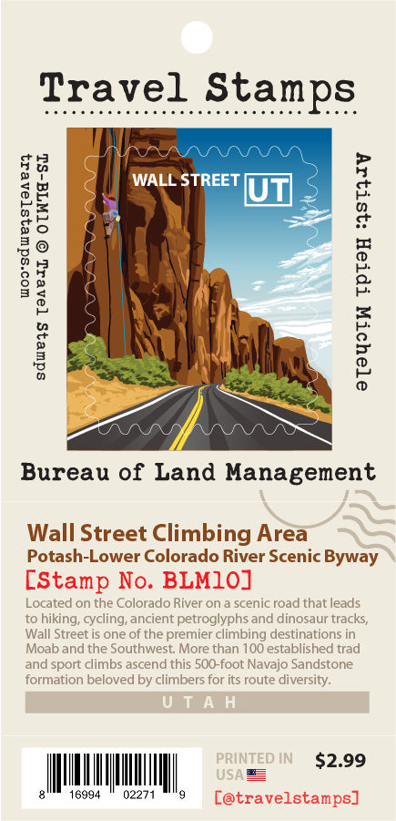 Wall Street Climbing Area & Scenic Byway