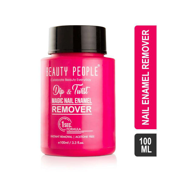 Beauty People Dip & Twist Magic Nail Enamel Remover-Nail Paint Remover-Orange Something