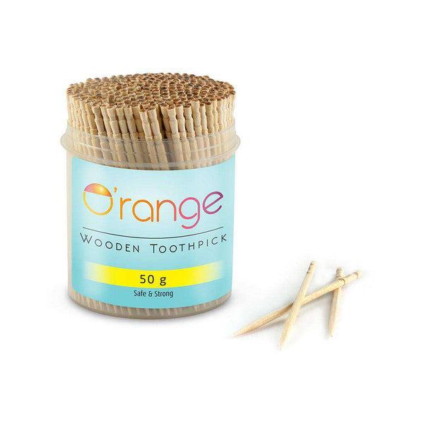 O'range Wooden Toothpick-toothpick-Orange Something
