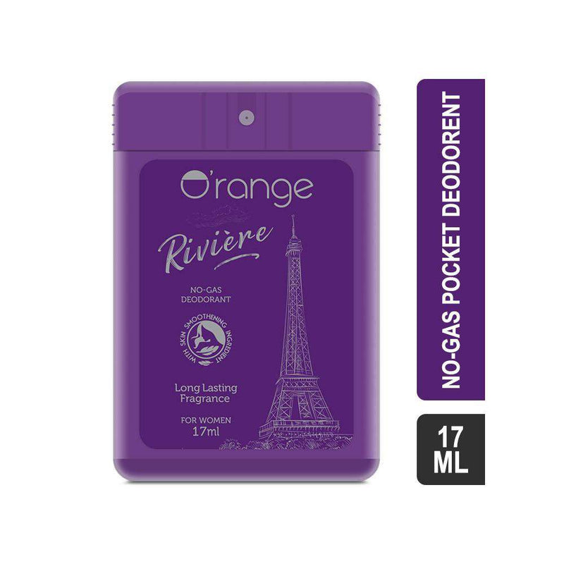 O'range Pocket Deodorant Riviere - No-gas Deodorant For Women-pocket deodorants-Orange Something