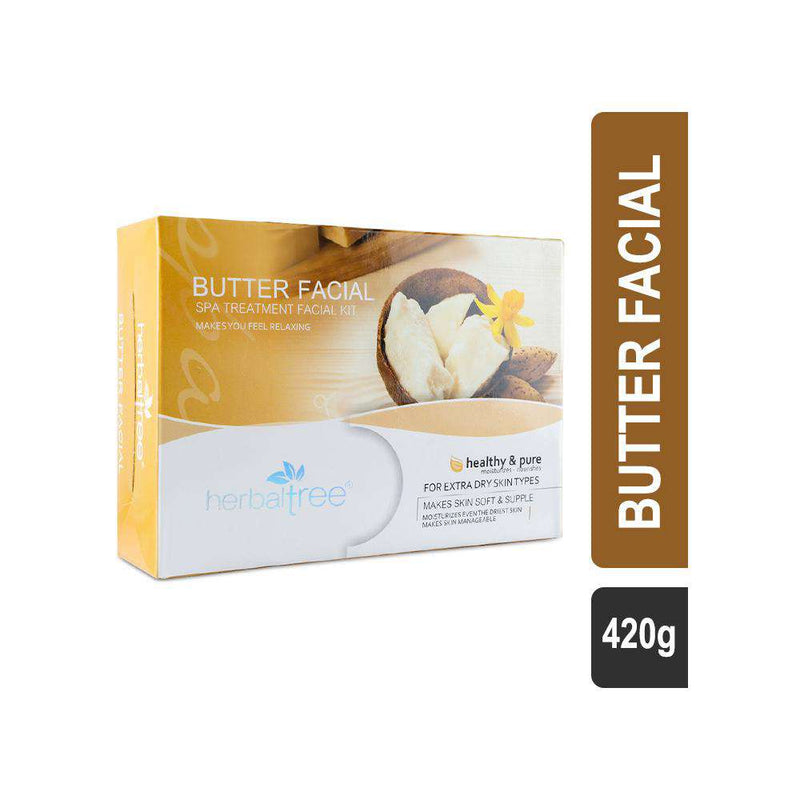 Herbal Tree Spa Treatment Butter Facial Kit for Dry Skin-Facial Kit-Orange Something