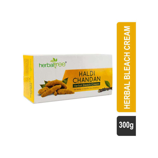 Herbal Tree Haldi Chandan Herbal Bleach-Face and Body bleach-Orange Something