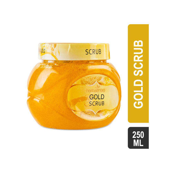 Herbal Tree Gold Scrub-Scrub-Orange Something