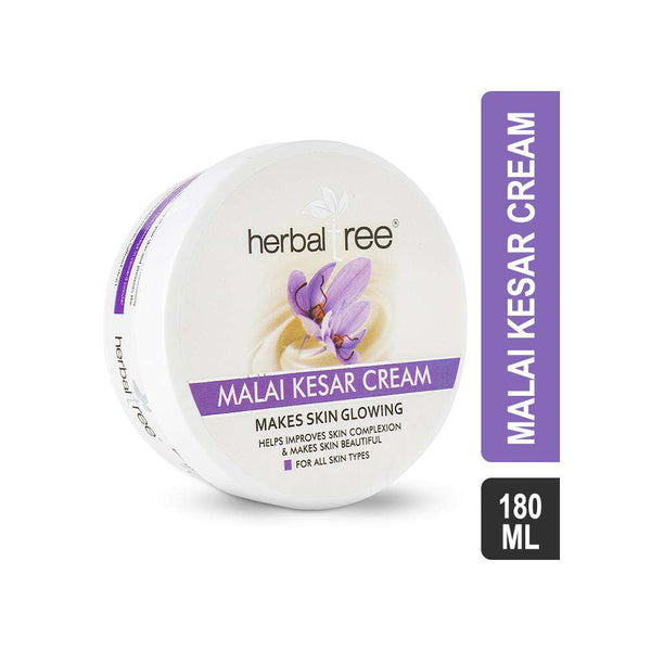 Herbal Tree Malai Kesar Cream-Cream-Orange Something