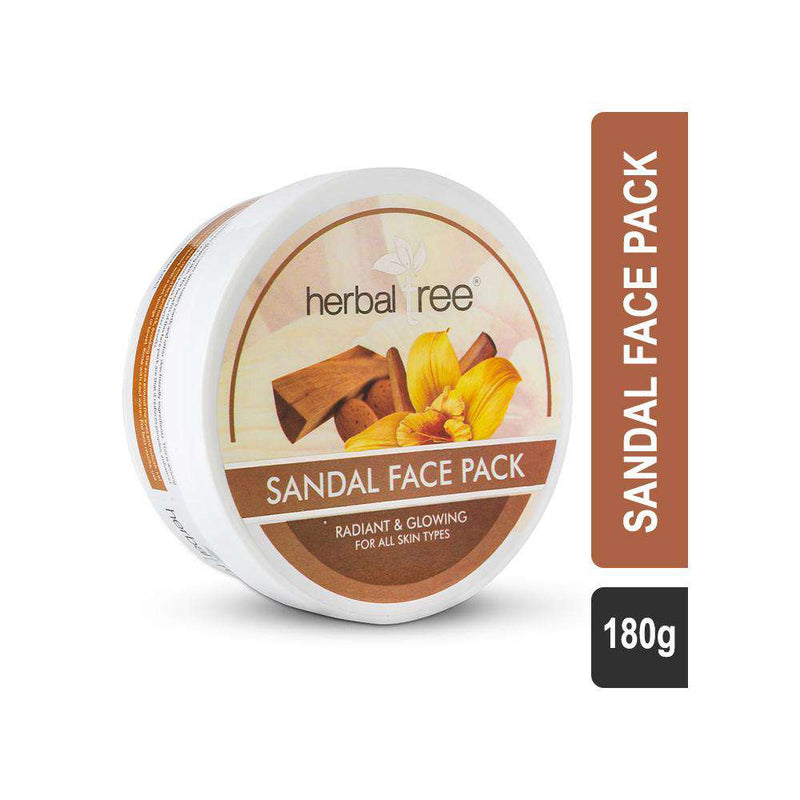 Herbal Tree Sandal Face Pack-Mask-Orange Something
