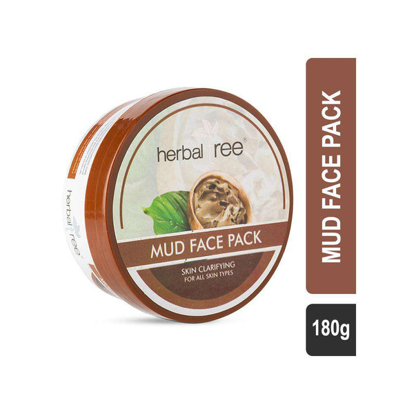 Herbal Tree Mud Face Pack-Mask-Orange Something