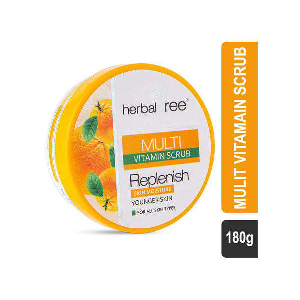 Herbal Tree Mulvitamin Scrub-Scrub-Orange Something