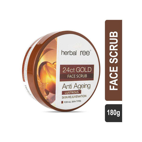 Herbal Tree 24Ct Gold Face Scrub-Scrub-Orange Something