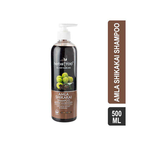 Herbal Tree Amla Shikakai Shampoo-Shampoo-Orange Something