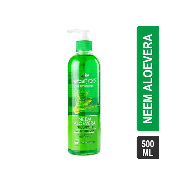 Herbal Tree Neem Aloevera Shampoo-Shampoo-Orange Something