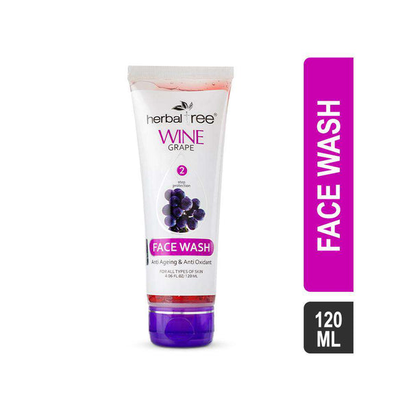 Herbal Tree Wine Grape Facewash-Facewash-Orange Something