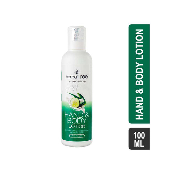 Herbal Tree Hand & Body Lotion with Cucumber & Aloevera Extract-Lotions-Orange Something