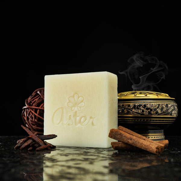 Aster Natural Handcrafted Body Bars - Arabic Oudh
