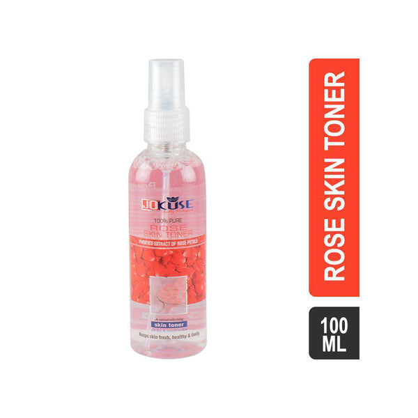 Jokuse Rose Water With Spray Pump 100ml-rose water spray-Orange Something