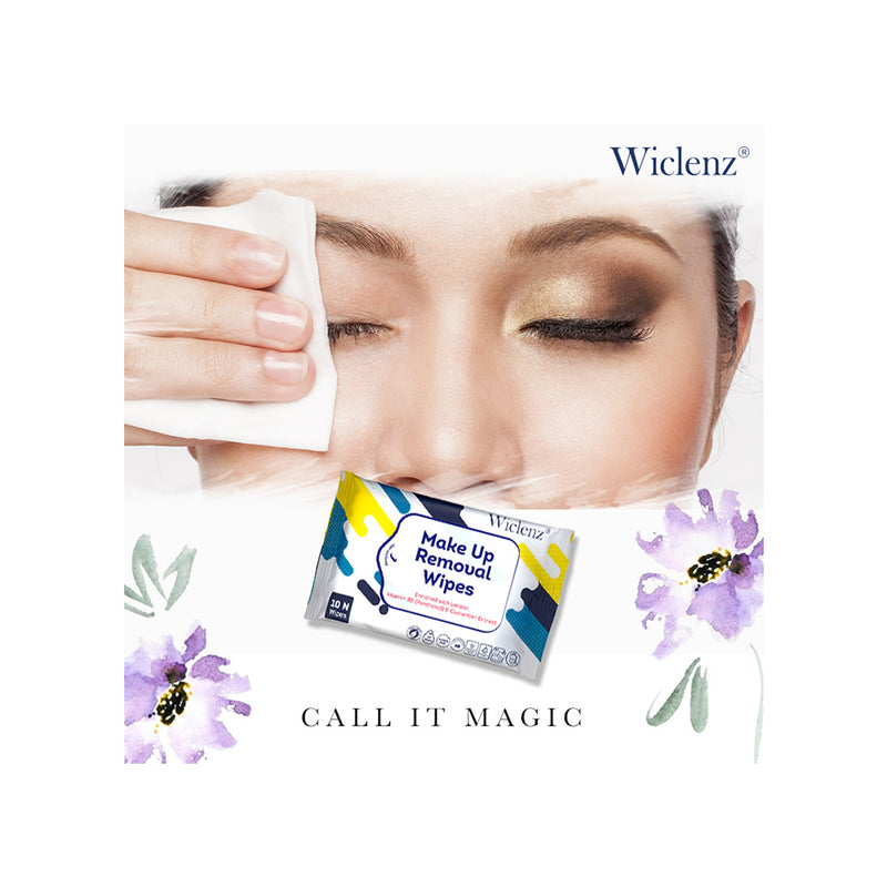 Wiclenz Makeup Removal Wipes - Orange Something