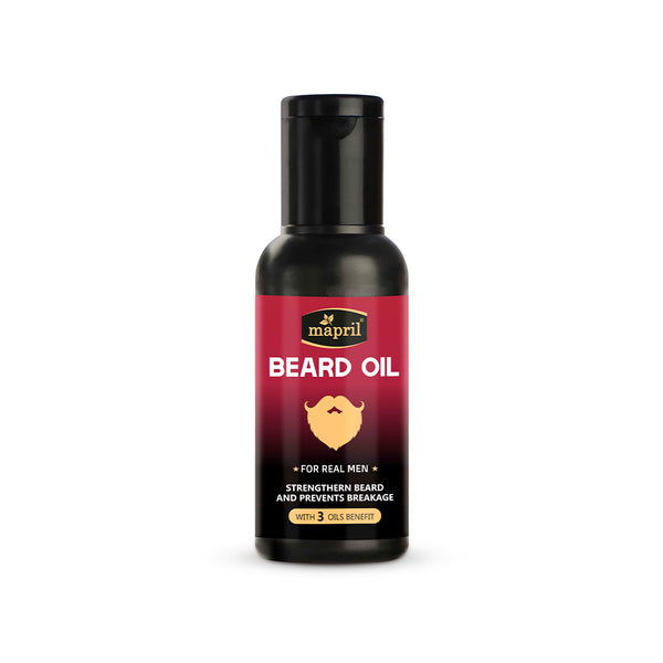 Mapril Beard Oil with 3 Essential Oils (50 ml)