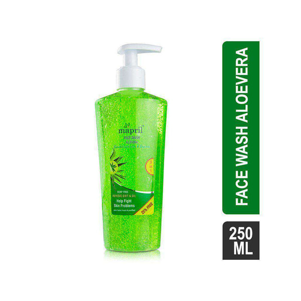 Mapril Soap-Free Aloe Vera Face Wash-Facewash-Orange Something