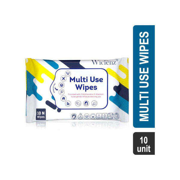 Wiclenz Multi Use Wipes-Face Wipes-Orange Something