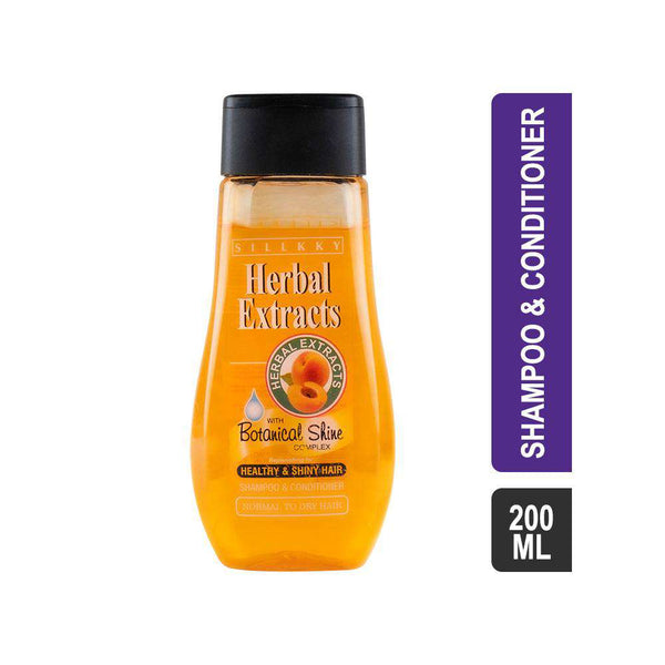 Sillkky Shikakai & Apricot Shampoo & Conditioner-Shampoo & Conditioner-Orange Something
