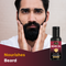 Mapril Beard Oil with 3 Essential Oils (50 ml) - Orange Something