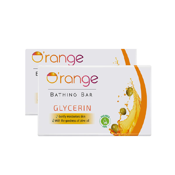 O'range Glycerine Soap - Pack of 2