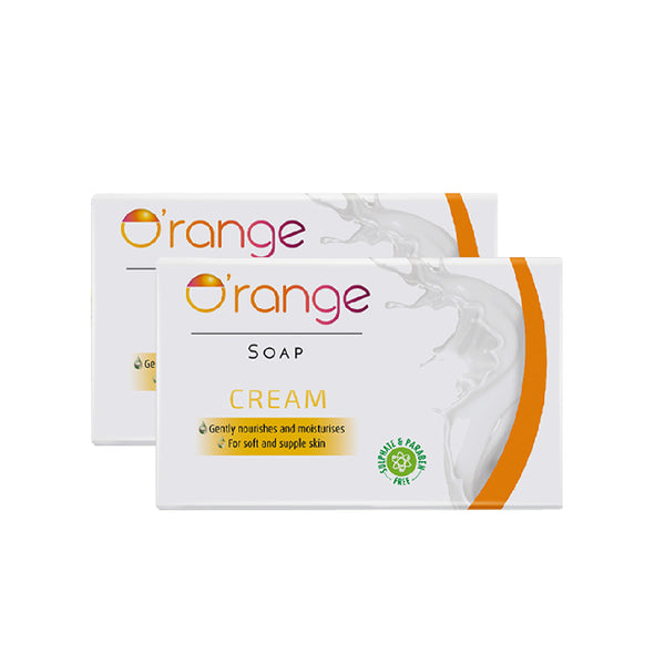 O'range Cream Soap - Pack of 2