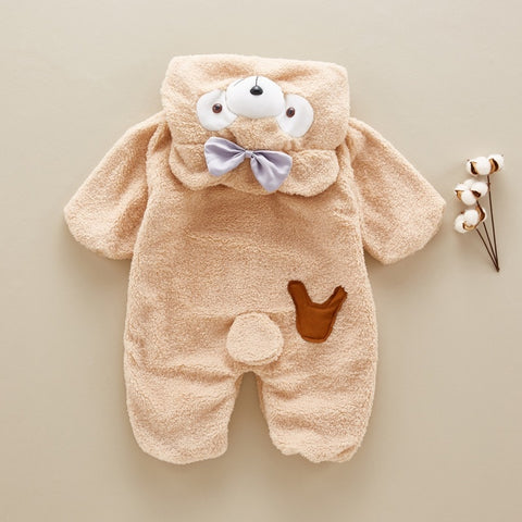 Cute Baby Bear Romper