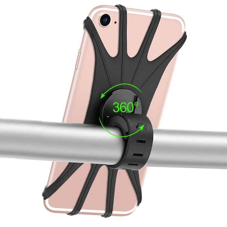 Silicone Phone Holder 360 Degree Rotation