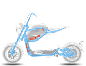 Miku-Max eMoped 800W Bosh Motor 60V 20AH-Electric Scooters Pacific