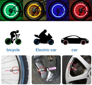 FireFlys - Bicycle Tire Valve Cap LED Light