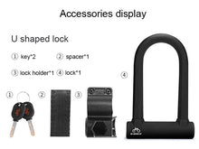 Load image into Gallery viewer, Anti-theft Heavy Duty U-Lock