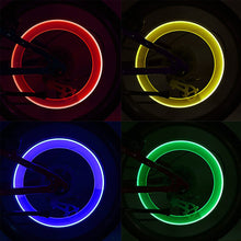 Load image into Gallery viewer, FireFlys - Bicycle Tire Valve Cap LED Light
