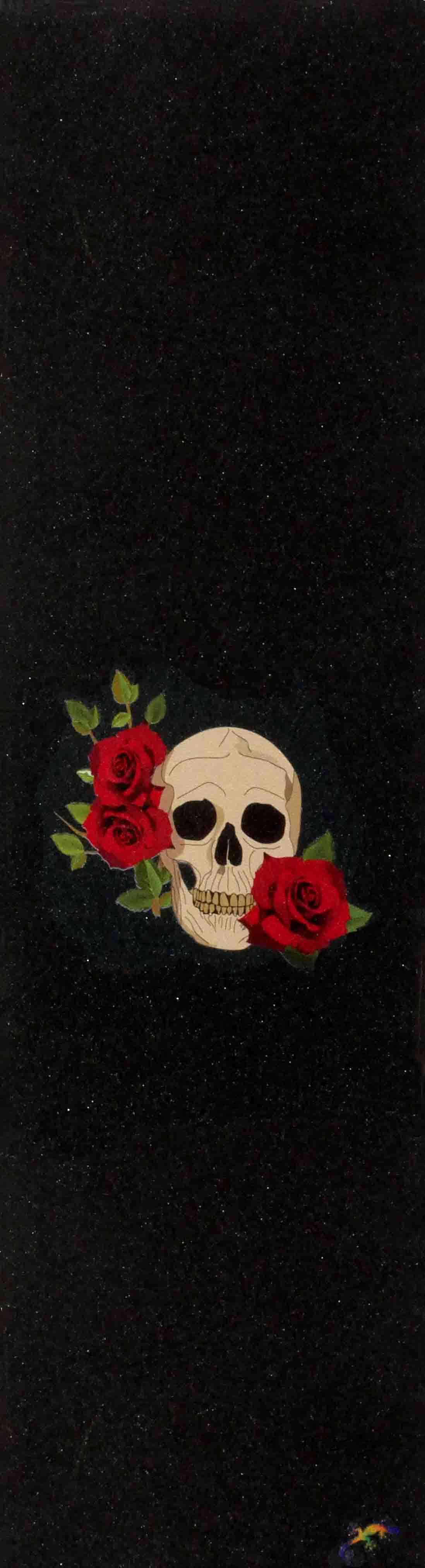 Skull and roses - Grip Tape 9