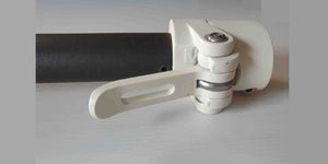 Xiaomi M365 White Stem including folding mechanism